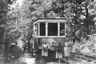 1949_год._Трамвай_в_Пуще-Водице
